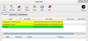 acquiring-windows-password-hashes-using-ophcrack-tool-14