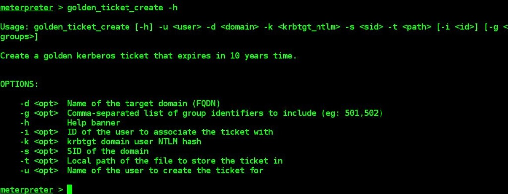 golden-ticket-generation-by-using-meterpreter-kiwi-extenion-and-mimikatz-tool-09