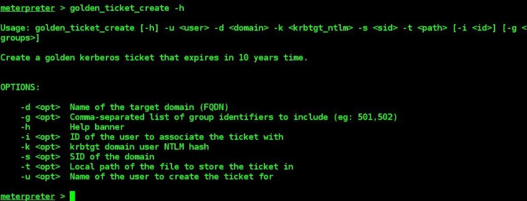 golden-ticket-generation-by-using-meterpreter-kiwi-extenion-and-mimikatz-tool-09