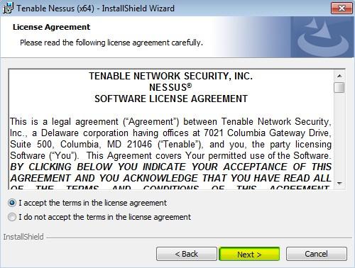 installing-nessus-in-windows-7-10