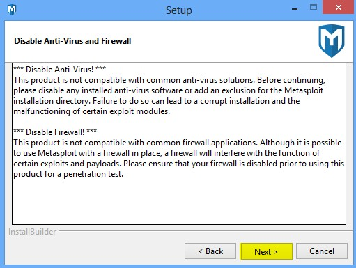 installing-metasploit-framework-community-edition-in-windows-8-14