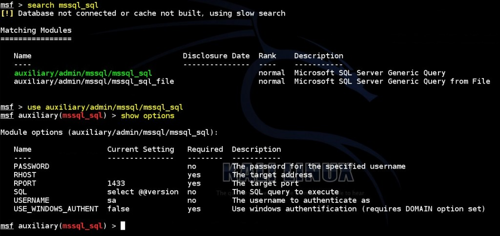 performing-sql-queries-on-ms-sql-database-by-using-msf-mssql-sql-auxiliary-module-01
