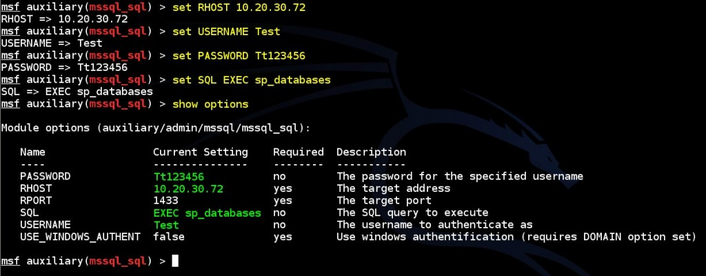 performing-sql-queries-on-ms-sql-database-by-using-msf-mssql-sql-auxiliary-module-02