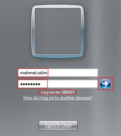 Şekil - 36: Mehmet Selim Kullanıcısının RODC Üzerindeki Oturumu